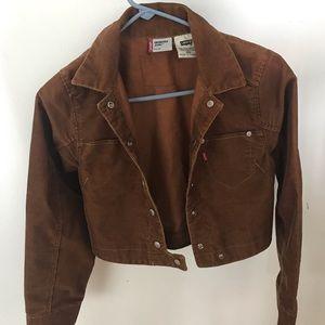 Vintage Levi's corduroy jacket (cropped)